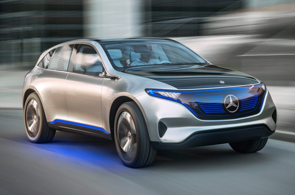 Mercedes benz launching new electric brand burg germany for Mercedes benz new electric car