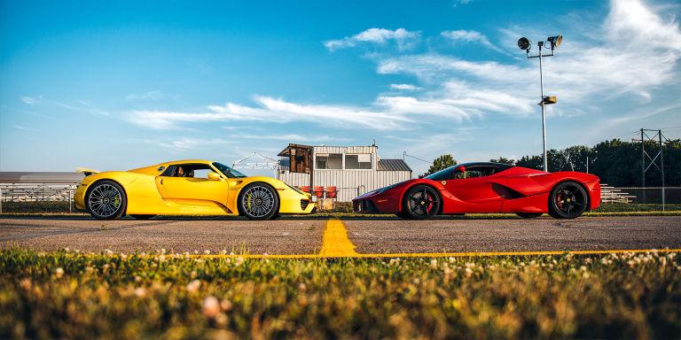 Ferrari LaFerrari & Porsche 918 Spyder: The Real World Test – BURG on mclaren p1 vs ferrari laferrari, ferrari 458 vs ferrari laferrari, pagani huayra vs ferrari laferrari, lamborghini aventador vs ferrari laferrari,