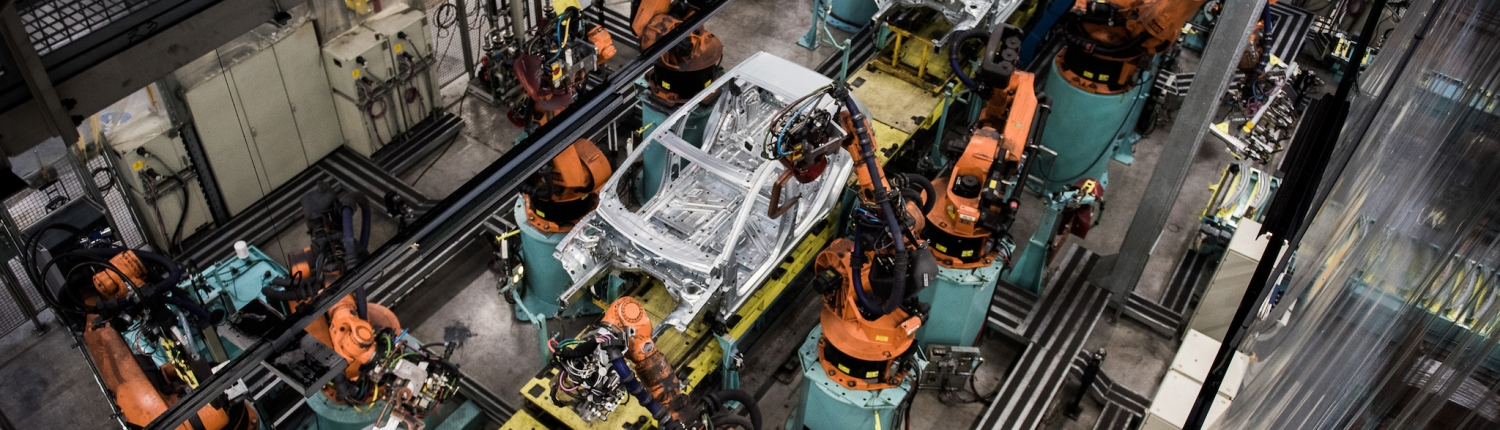 Automobile manufacturing factory